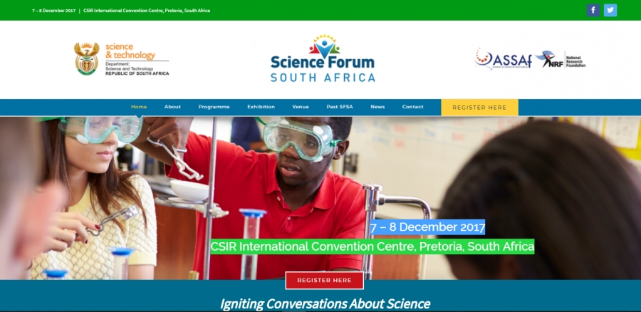Science Forum South Africa: 7-8 December 2017